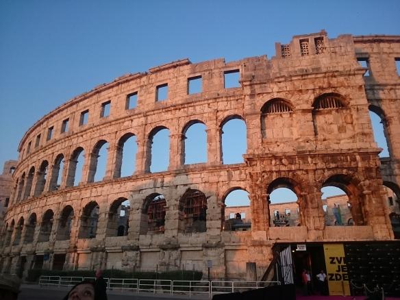 L'amphithéâtre romain