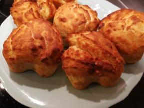 Muffins au lard