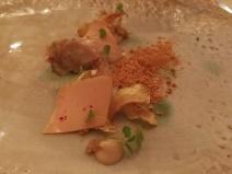 Artichaut et foie gras