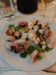 Salade de fruits de mer
