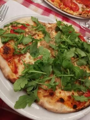 Pizza aux bolets